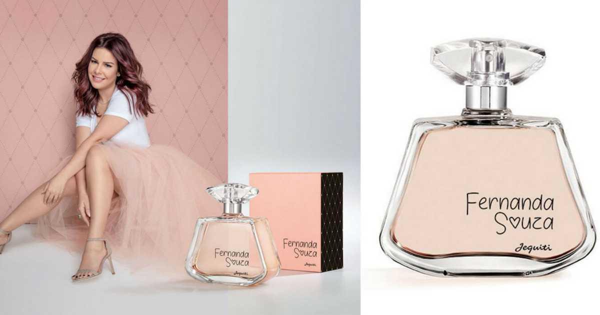 Perfumes femininos para se orgulhar: Fernanda Souza (Jequiti) é um dos perfumes femininos brasileiros para se orgulhar
