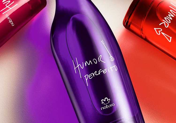 Humor Perfeito (Natura) é um dos perfumes femininos brasileiros para se orgulhar