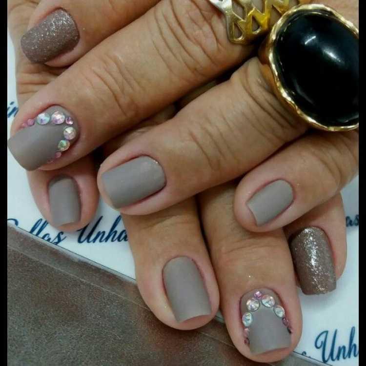 Ideia para decoração das unhas