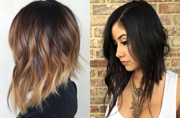 Long Bob é uma das tendências de cabelos curtos para o verão 2019