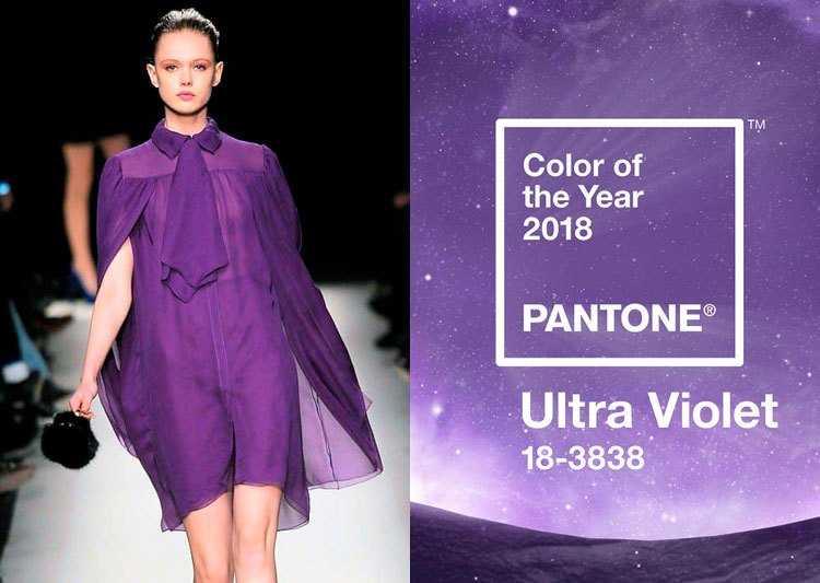 peças ultravioleta é uma das tendências da moda verão 2019
