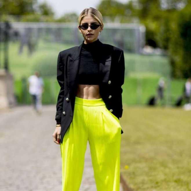 Tendências da moda inverno 2019: Neon dos anos 1980