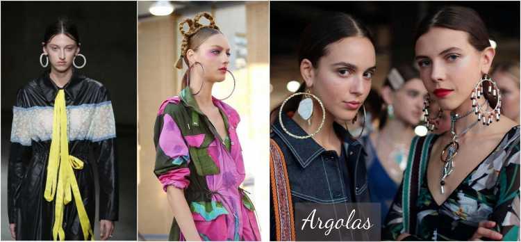 Argolas é uma das tendências em semijoias no verão 2019