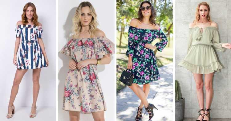Modelo ciganinha é um dos modelos de vestidos para apostar no verão 2019