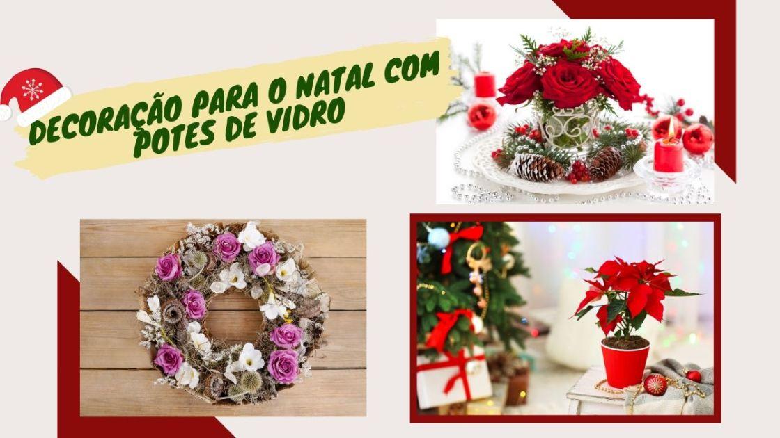 Decoração de Natal com plantas