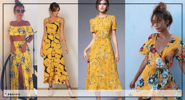 Looks amarelos é uma das tendências de moda que seguirão absolutas em 2019
