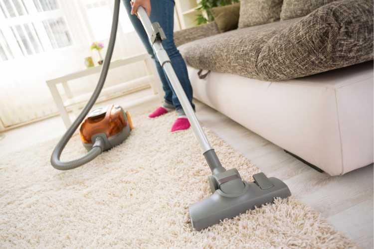 Carpetes é um dos objetos de casa que são muito sujos