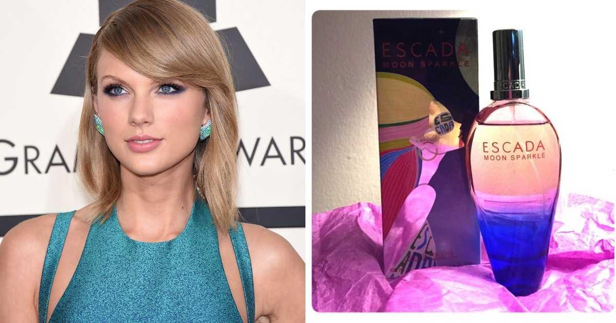 Taylor Swift prefere o icônico Escada da Moon Sparkle
