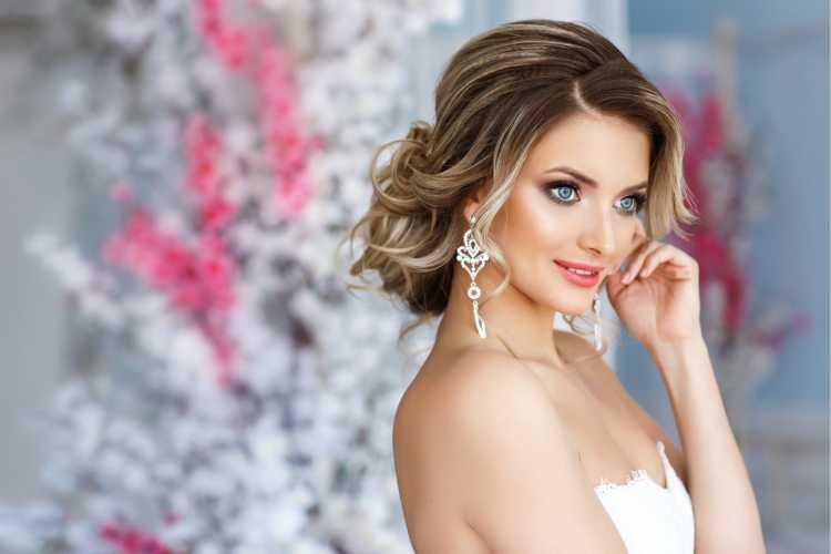 Maquiagem para noiva jovem