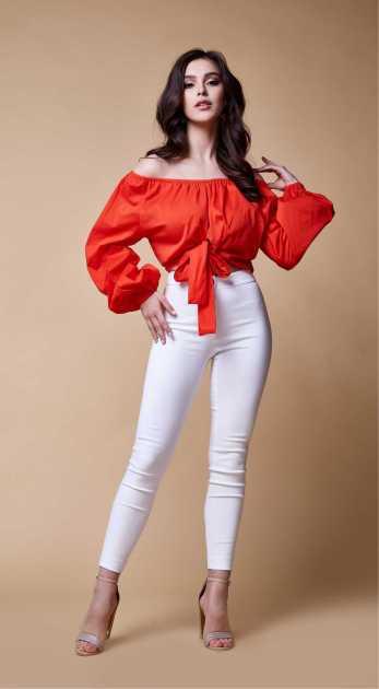 blusa ciganinha de mangas bufantes estilo Shapes Big Size
