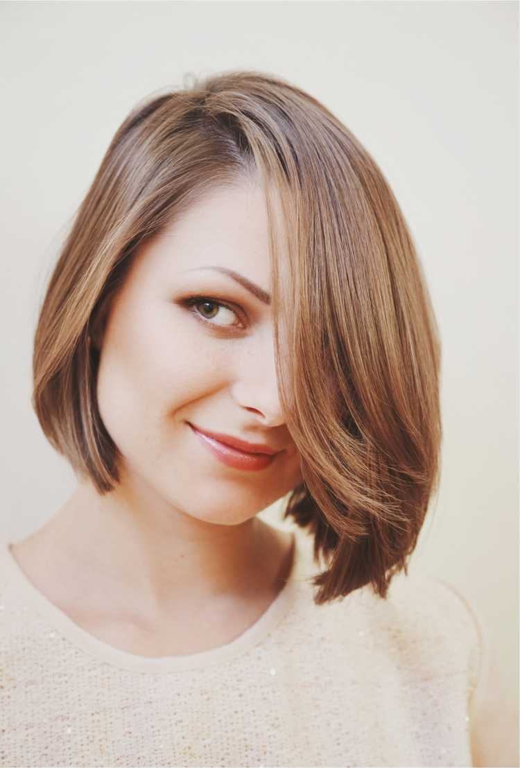 cabelo curto chanel para rosto redondo