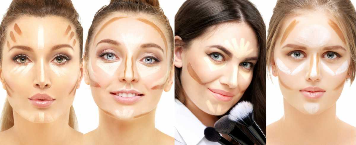 contorno para cada tipo de rosto