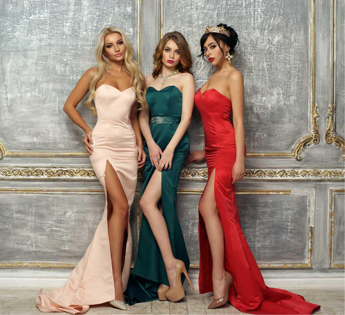 vestidos com modelagem sereia