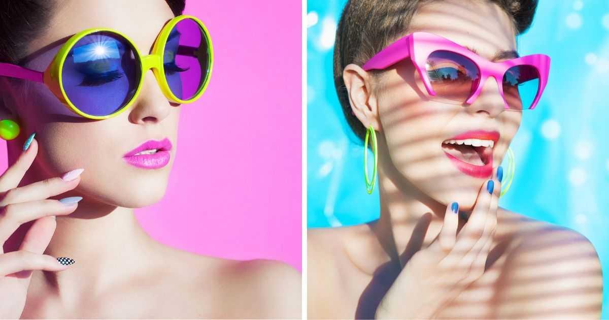 acessórios neon serão uma das tendência para da moda verão 2020
