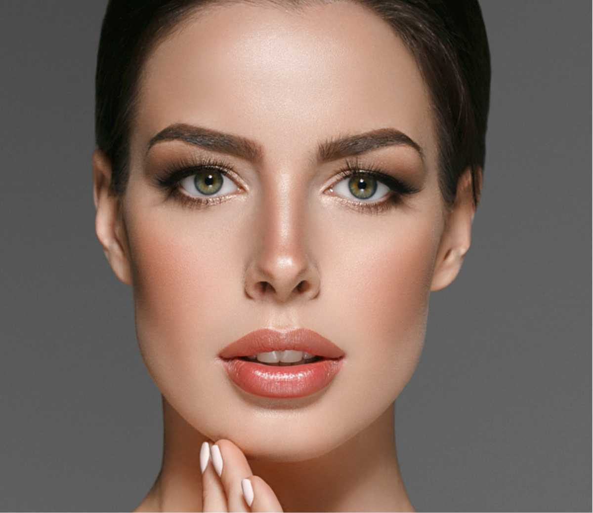 sobrancelha ideal para rosto longo