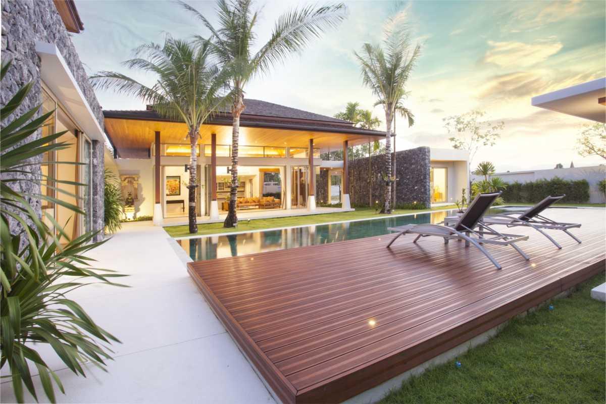 projeto paisagístico com piscina pequena