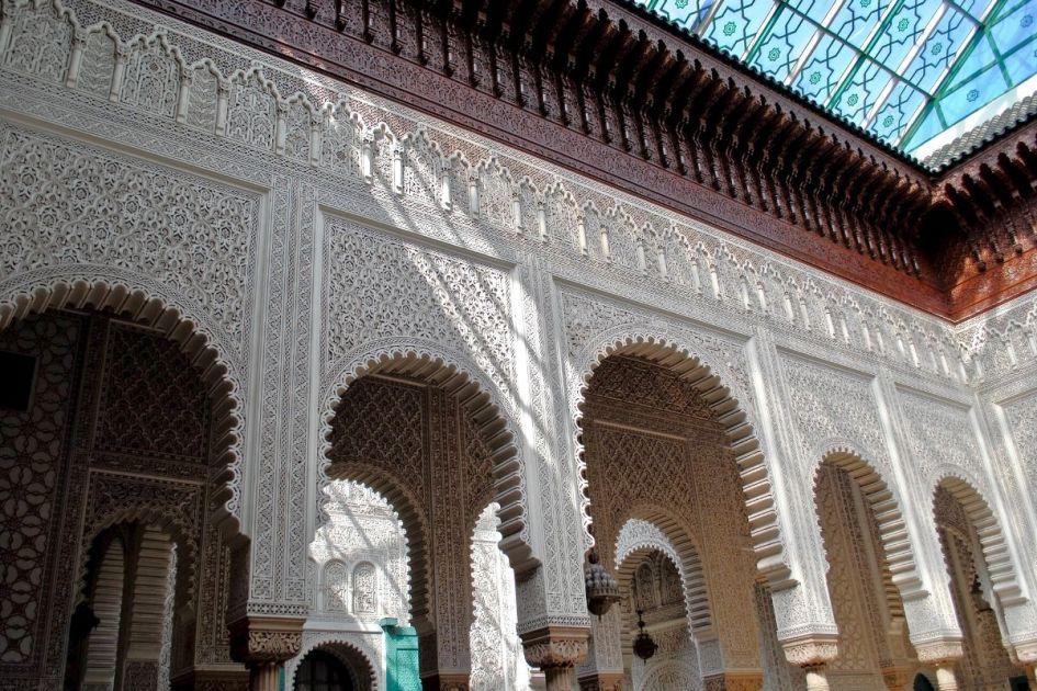 Palácio Mahkamat Al-Pasha, Marrocos - Crédito de atribuição editorial: EWY Media / Shutterstock.com