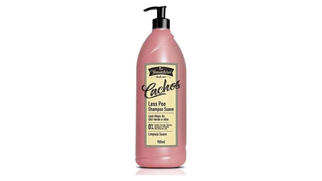 YAMÁ Shampoo Yamasterol Less Po é um dos melhores shampoos para cabelos cacheados