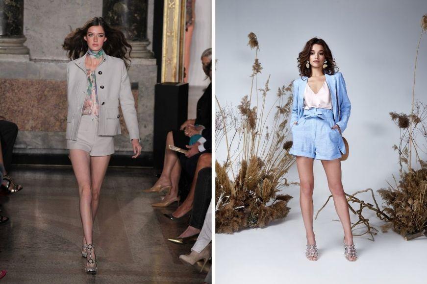 Conjuntinhos de terninhos com shorts dominarão a moda verão 2021