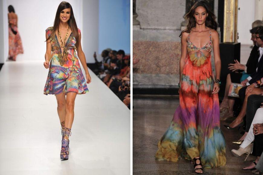 Estampa tie dye é uma das tendências que dominarão na moda verão 2021