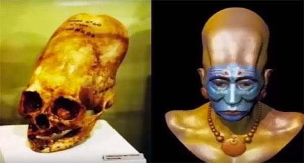 crânio bizarro