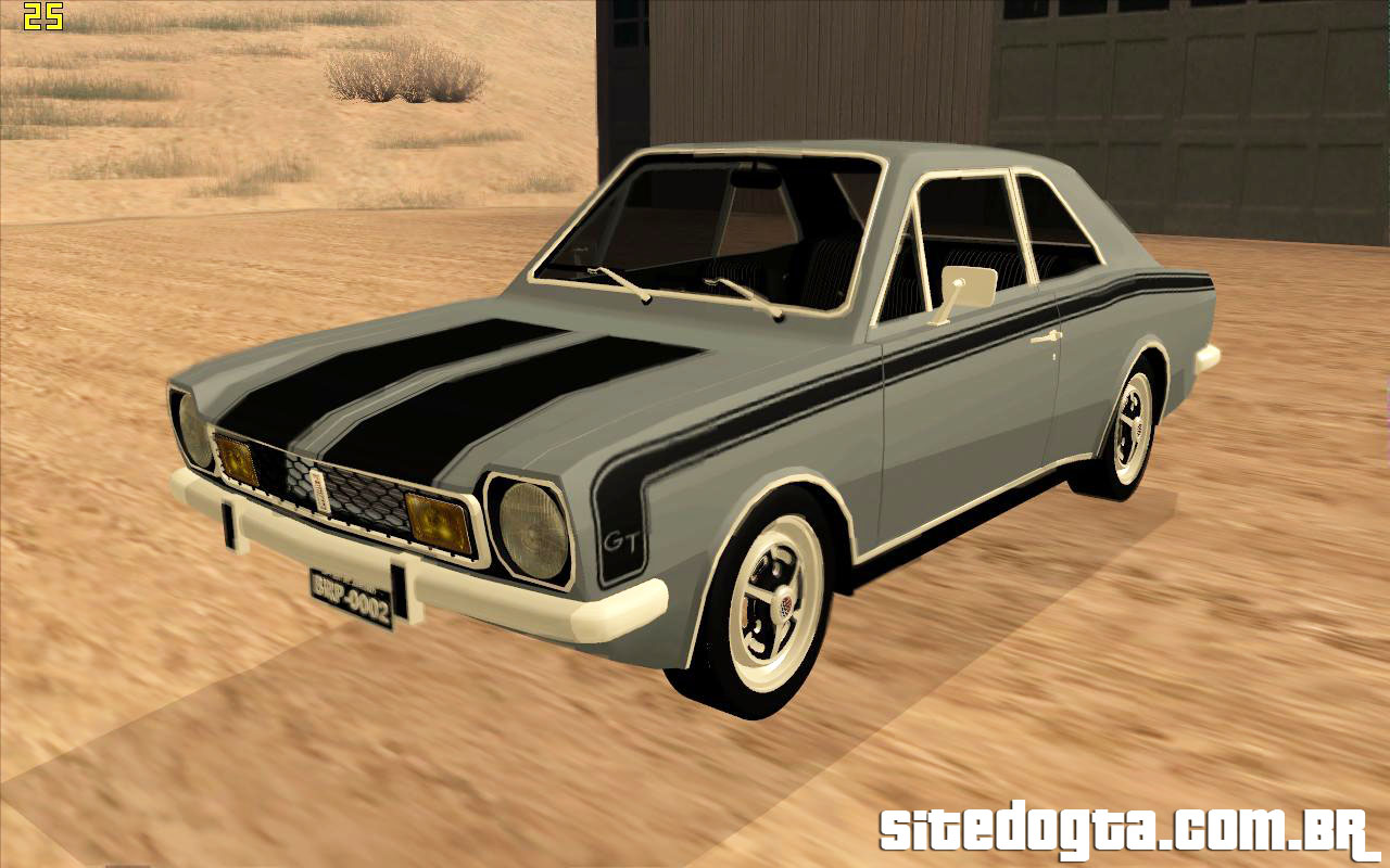 Ford Corcel GT 1975 Para GTA San Andreas Site Do GTA
