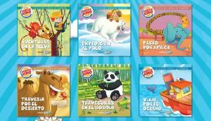 Libros de cuentos Burger King