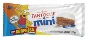 3D mini blanco simpsons