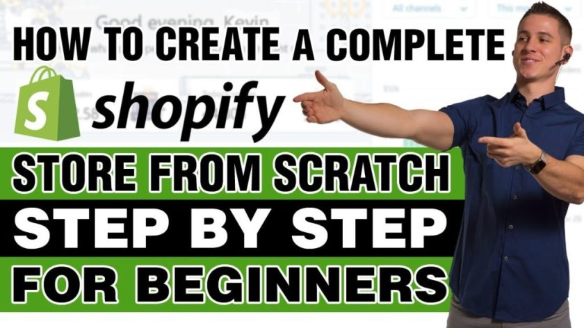 How To Create A Profitable Shopify Store From Scratch