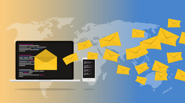 تسويق الرسائل الإخبارية عبر البريد الإلكتروني عبر الإنترنت