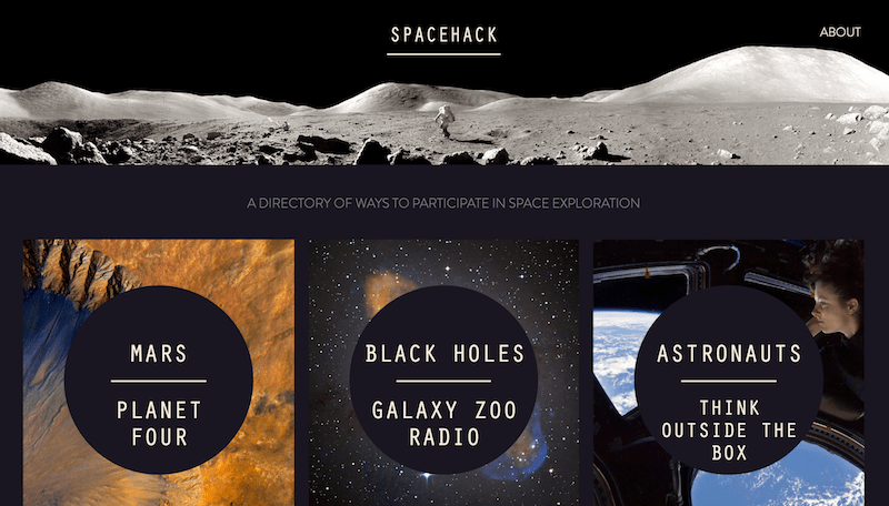 SpaceHack Website