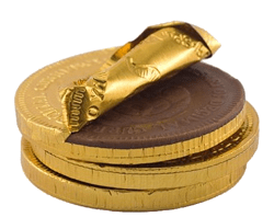 Roman coins to tire customers by way of banana slicers and the chocolate diet