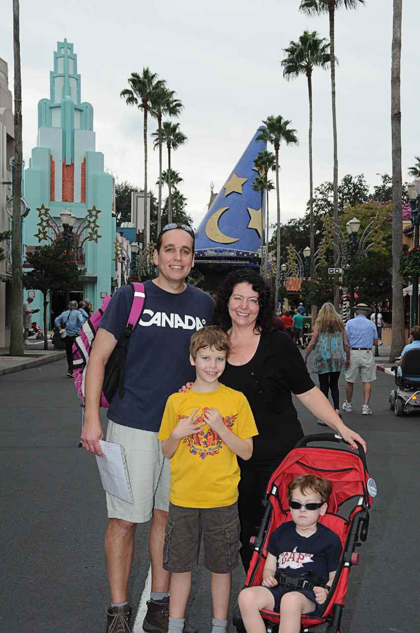 Another family trip, this time to Walt Disney World.