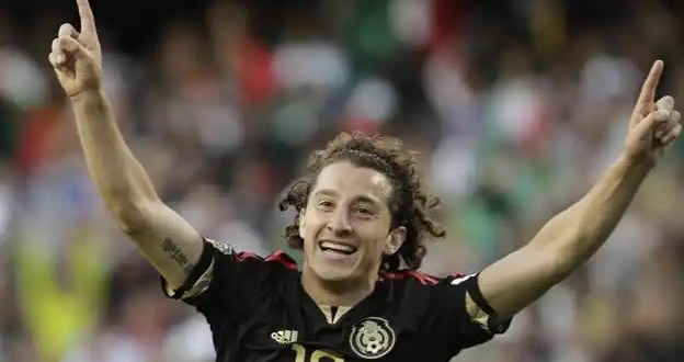 El debut de Andrés Guardado en la Champions League