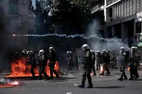 Violencia en Grecia: reprimen a manifestantes