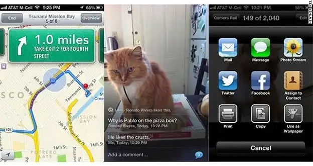 Lo mejor del nuevo iOS 6 de Apple