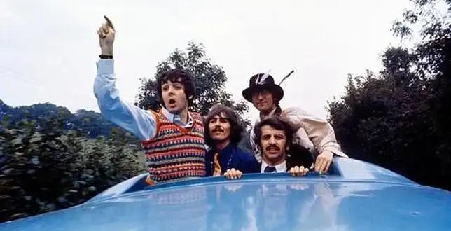 Video inédito de Los Beatles