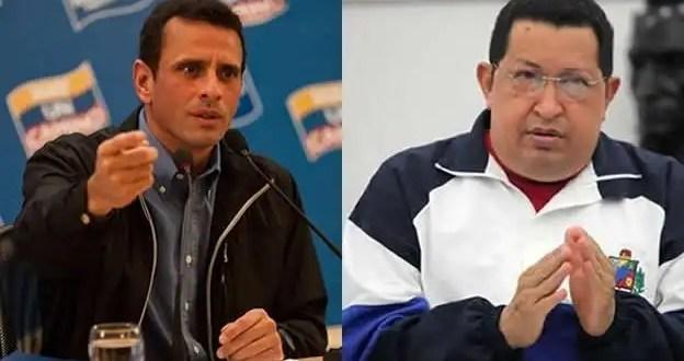 Éstas son las palabras que más repiten Chávez y Capriles