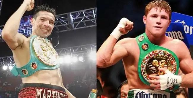 'Canelo' Álvarez prepara una pelea con 'Maravilla' Martínez