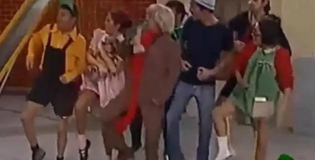 Video imperdible! El Chavo del ocho ya baila el 'Gangnam style'