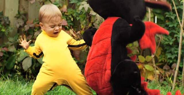 Video furor: El bebé karateca 'Dragon Baby'