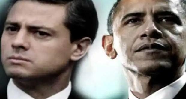 Reunión de Enrique Peña Nieto con Barack Obama en EU