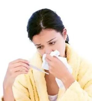Cómo maquillarte para disimular una gripe