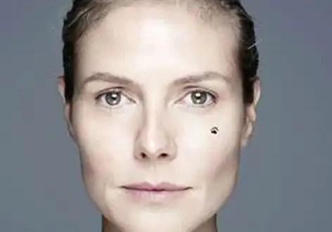 Critican a Heidi Klum por posar al natural - Foto