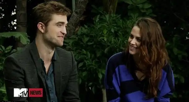 Video: Primera entrevista de Robert Pattinson y Kristen Stewart juntos