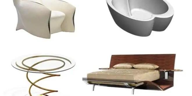 Fotos de los muebles que diseña Brad Pitt