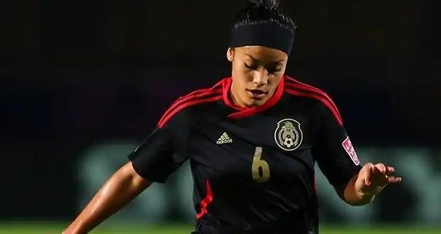 Olivia Jiménez compite junto a Messi y Falcao por el gol del año