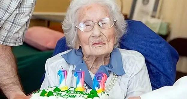 Falleció la persona más anciana del mundo a los 116 años