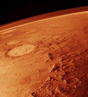 Impacto de un asteroide contra Marte