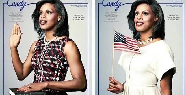 Fotos: el doble transexual de Michelle Obama